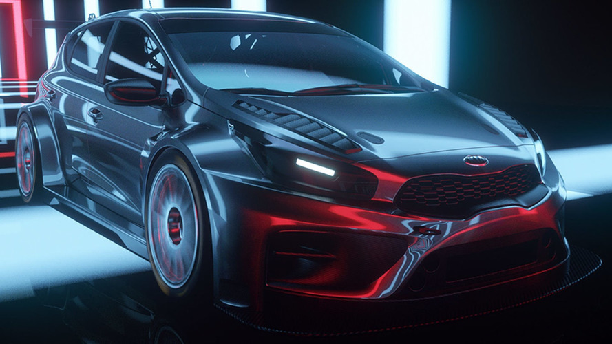 Kia cee'd TCR looks pretty sweet in promo video