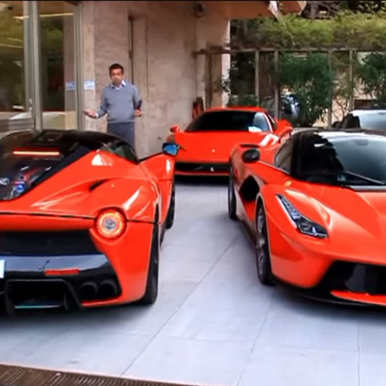 Pair of LaFerraris Spotted on Streets of Monaco [video]