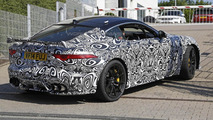 Jaguar F-Type SVR spied flaunting rear wing and massive front vents (28 photos)