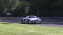 2017 Audi R8 Spyder spied on the Nürburgring [video]