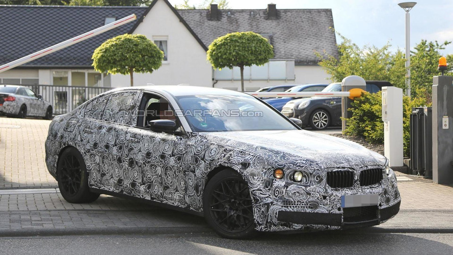 2017 BMW M5 spied on the Nürburgring