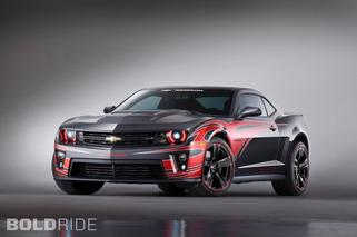 SEMA 2012: Chevy Breaks Out a Trio of Custom Camaros and Corvettes