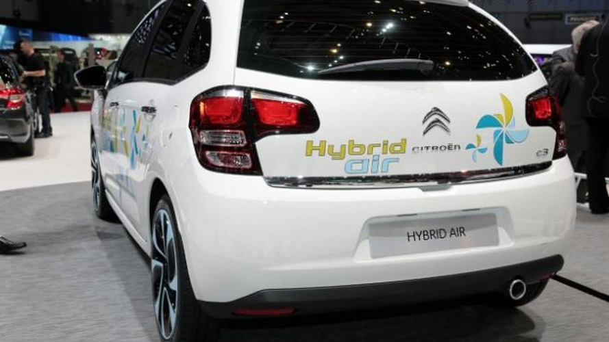 Citroen C3 Hybrid Air shows its green credentials in Geneva