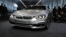 BMW 4-Series Coupe Concept arrives in UK [video]