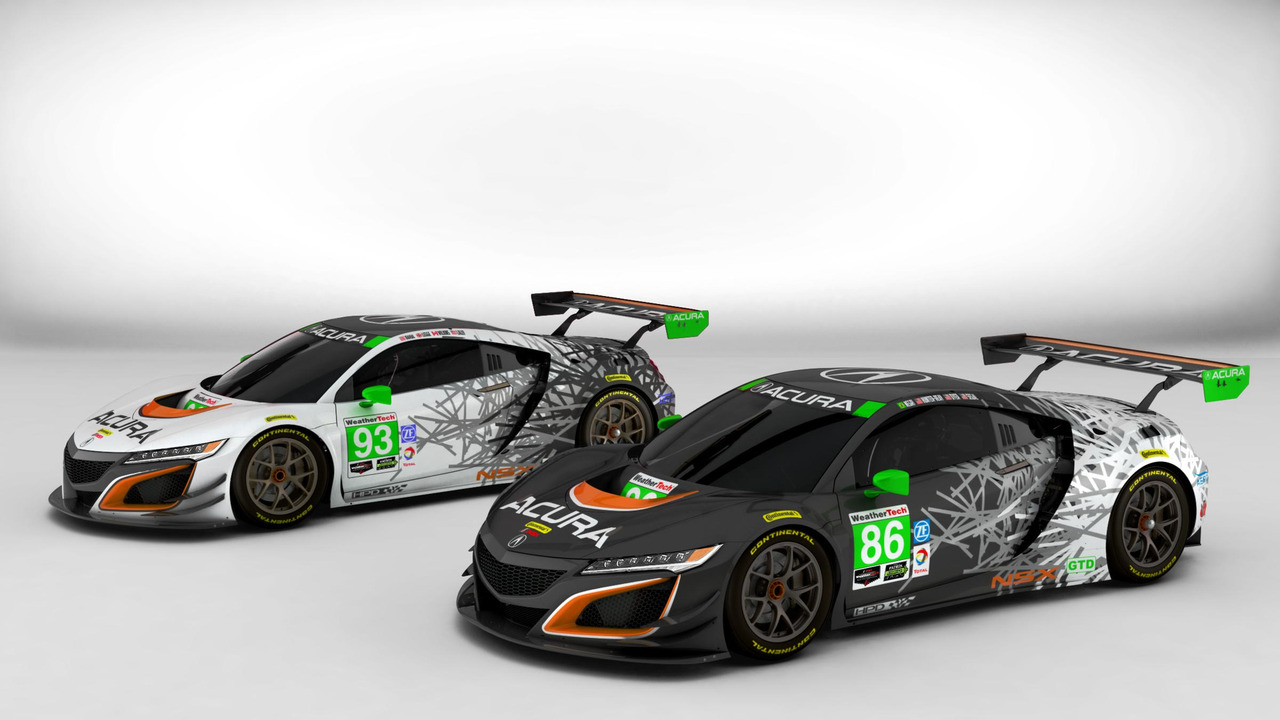 2017 Acura NSX Liveries