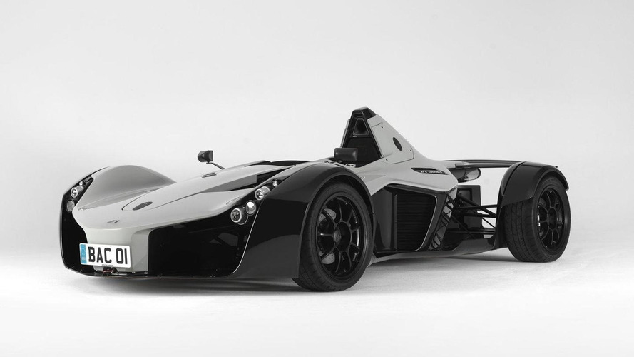 BAC MONO revealed in the flesh - official details