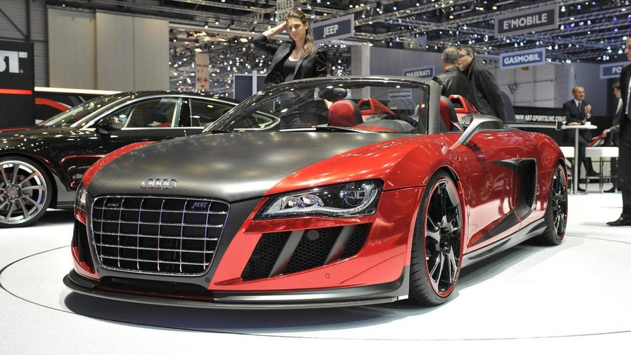 Abt Sportline R8 GT S goes topless in Geneva