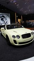 Bentley Continental Supersports Convertible in Geneva