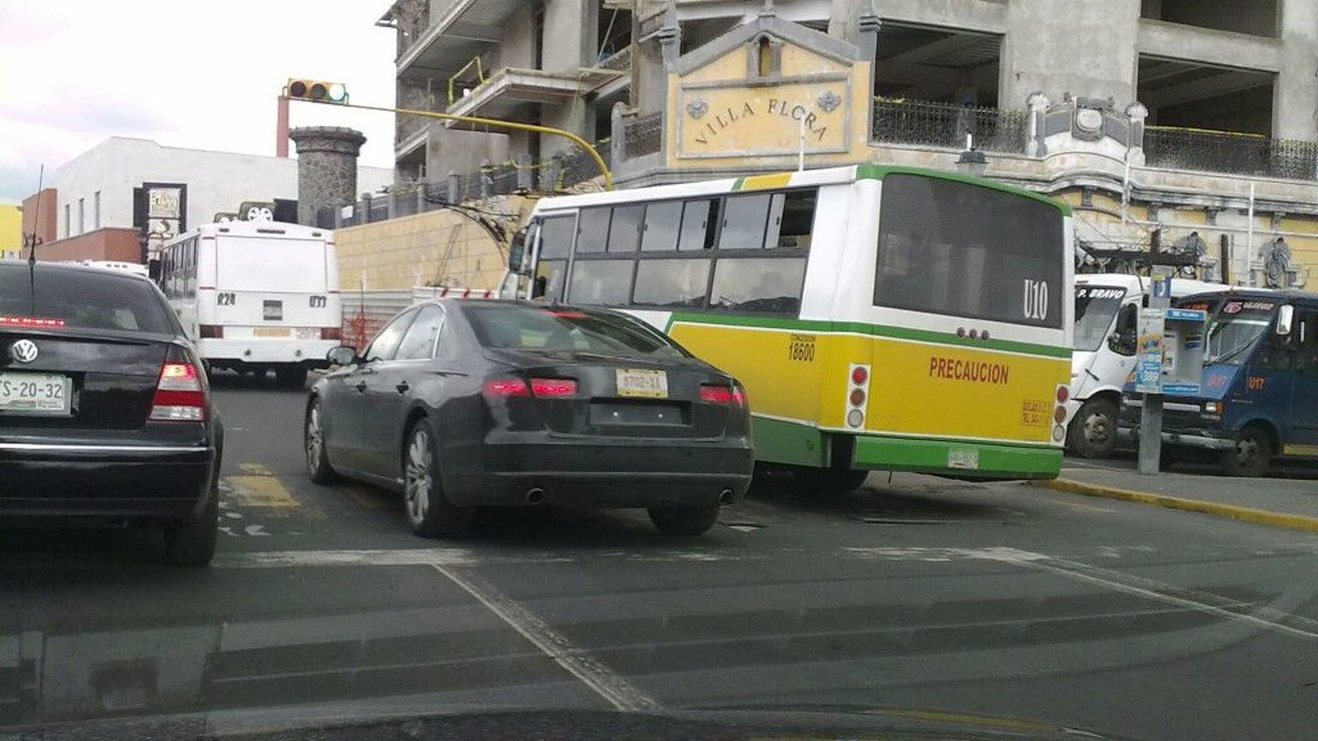 Possible Audi A8 Test Mule Caught on Video in Mexico