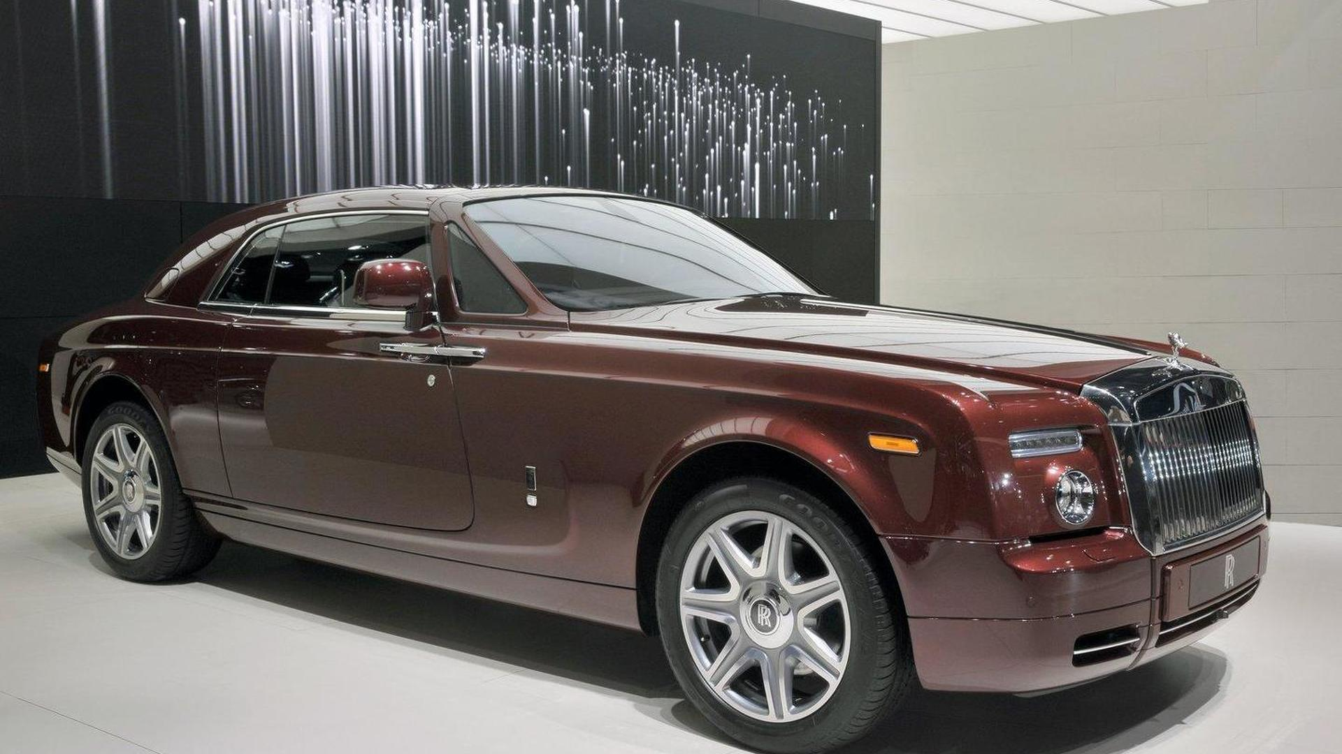 New Rolls-Royce bespoke models unveiled in Paris