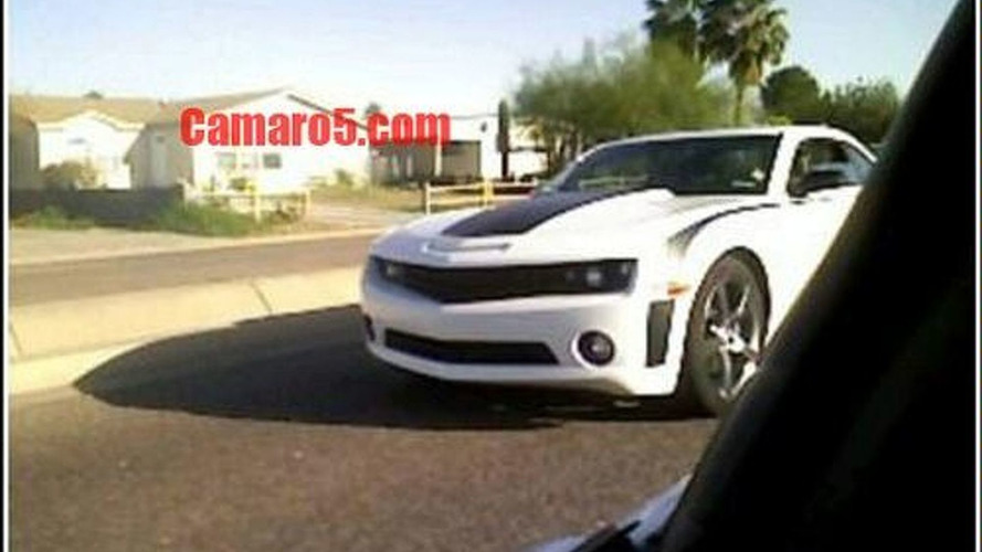 Camaro SS Spy Shot Surfaces