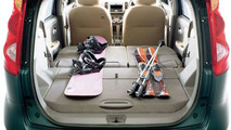 Nissan Note Compact Car Trunk