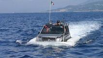 Fiat Panda in Cross Channel Swim Shock