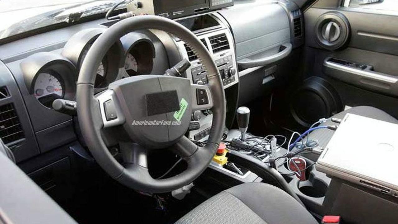 Production Dodge Nitro Spy Photos