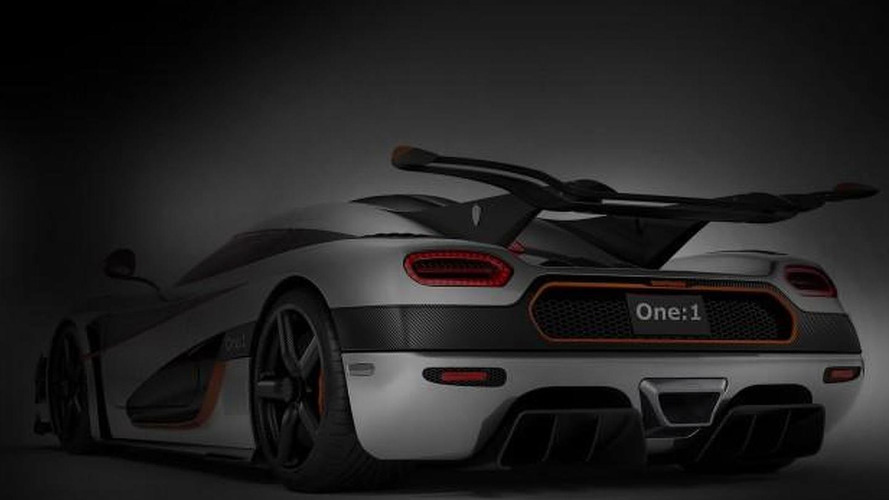 Koenigsegg One:1 teased, heading to Geneva next month