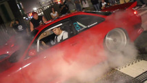 Nissan 240SX burnout dance video at H2Oi show attracts crowds, police