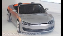 VW divulga o primeiro vídeo oficial do BlueSport Roadster Concept em ação