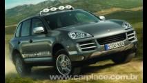 Porsche Cayenne S Transsyberia - Versão inspirada em rally tem motor de 405cv