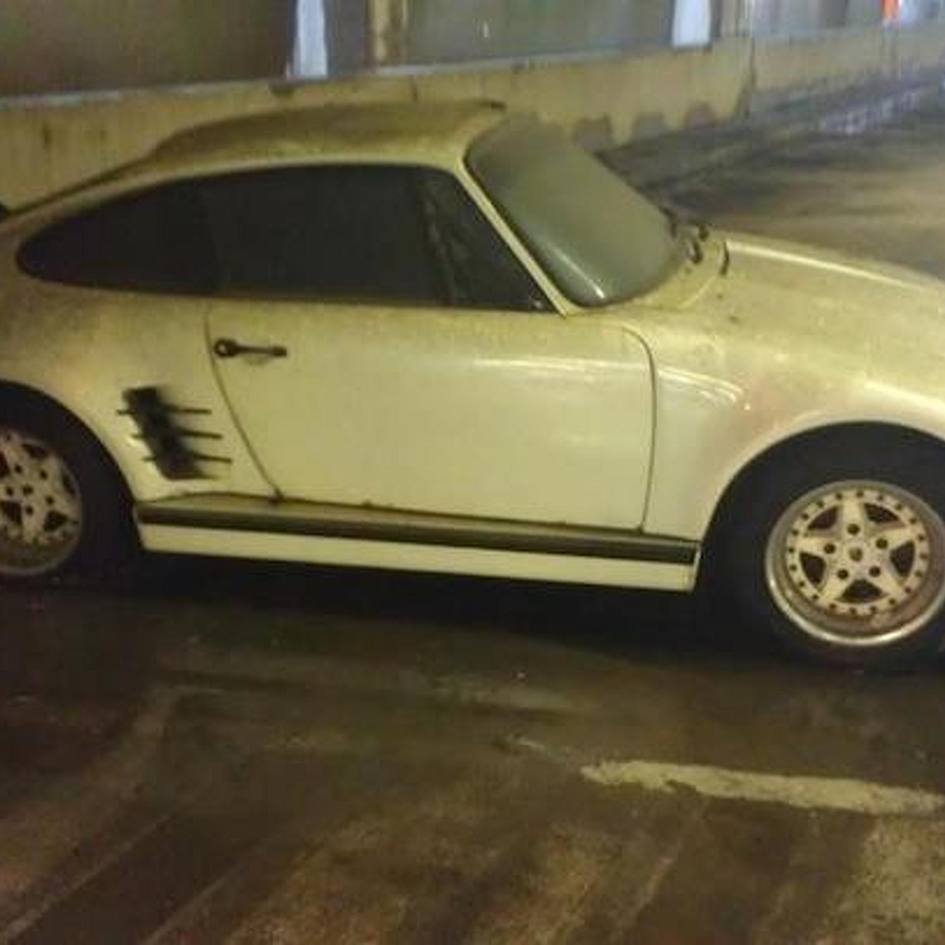 Someone Save this Abandoned Porsche 930 Slantnose