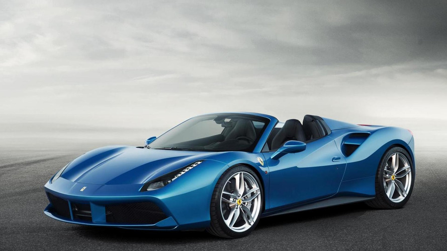 Ferrari 488 Spider revealed with 670 PS