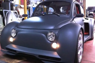 Video: A Lambo-Powered Fiat 500 is all Sorts of Insane