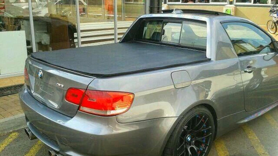 Unofficial BMW M3 Pickup photographed in Pretoria