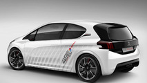 Peugeot 208 Hybrid FE Concept official photos emerge