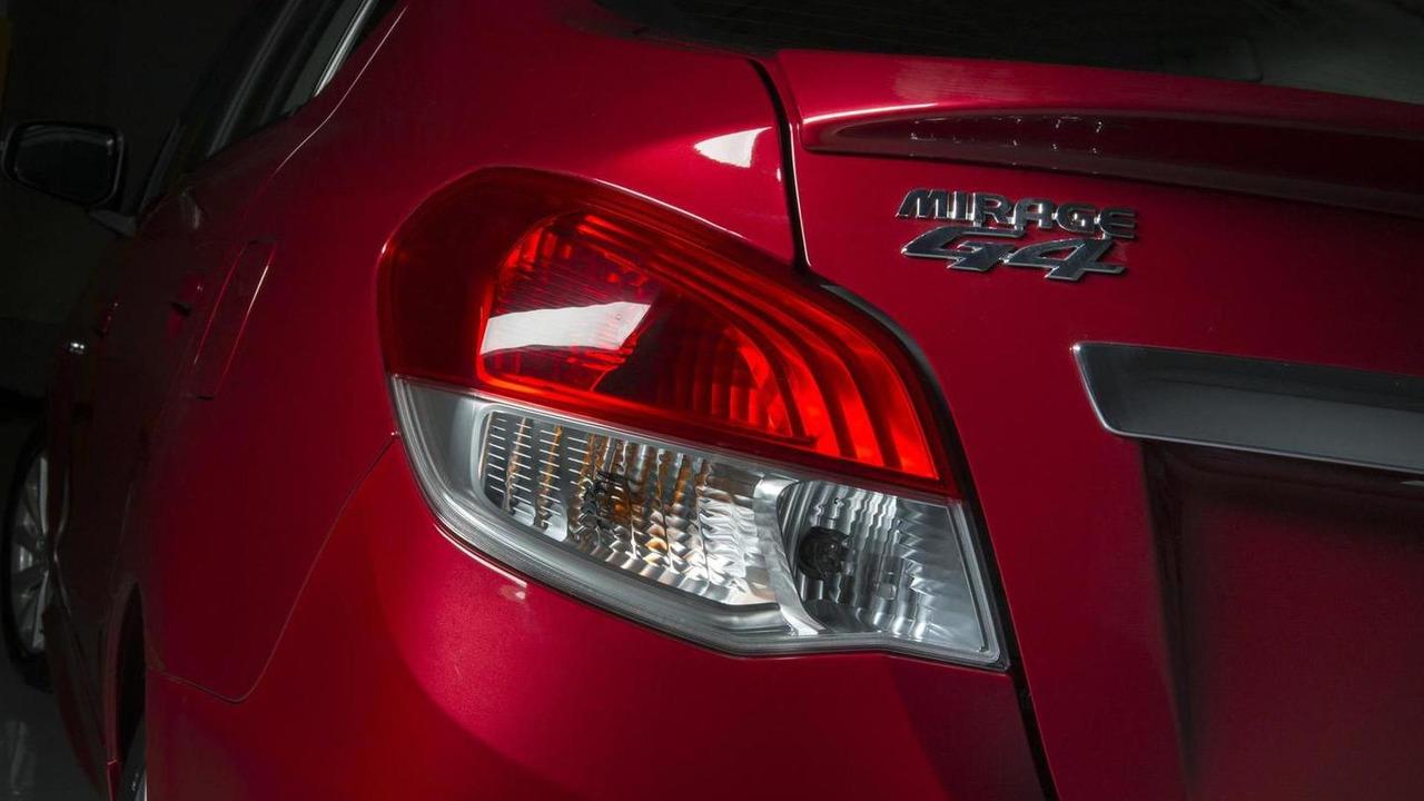 2014 Mitsubishi Mirage G4 sedan teaser