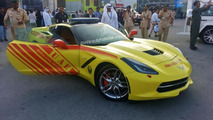 2014 Chevrolet Corvette Stingray for Dubai Fire Brigade 19.11.2013