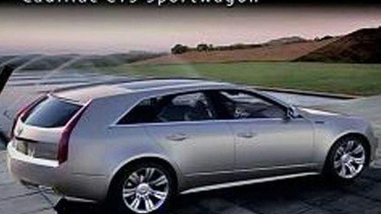 Cadillac CTS Sportwagon