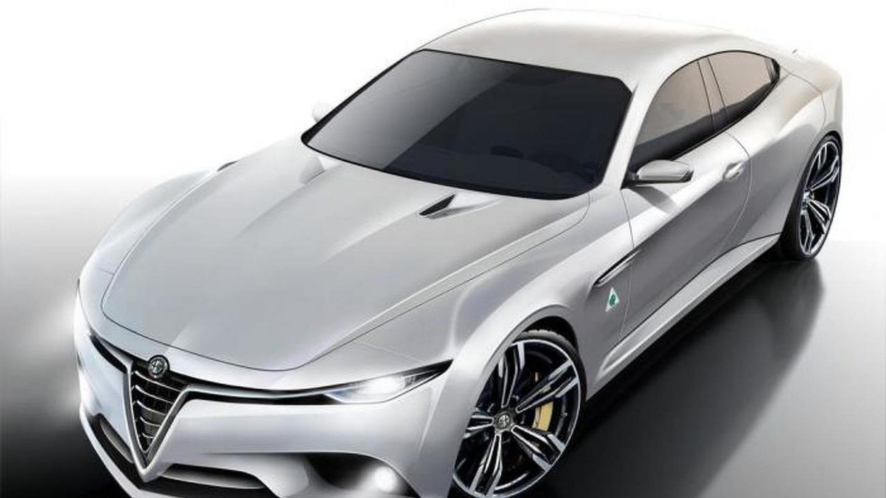 Alfa Romeo Giulia render