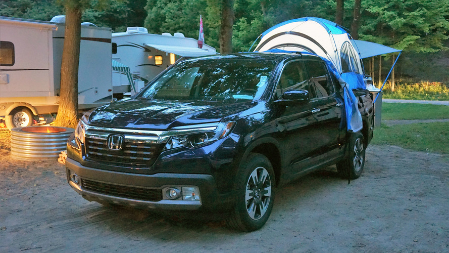 ... smooth and compliant, so the Ridgeline drives smaller than it looks