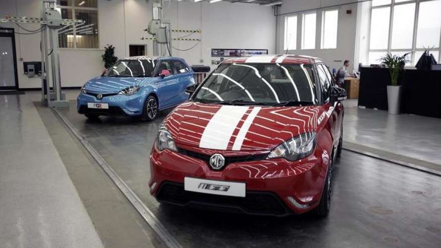 MG3 Euro-spec preliminary specifications announced