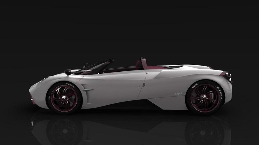 Pagani shows Huayra Roadster behind closed doors