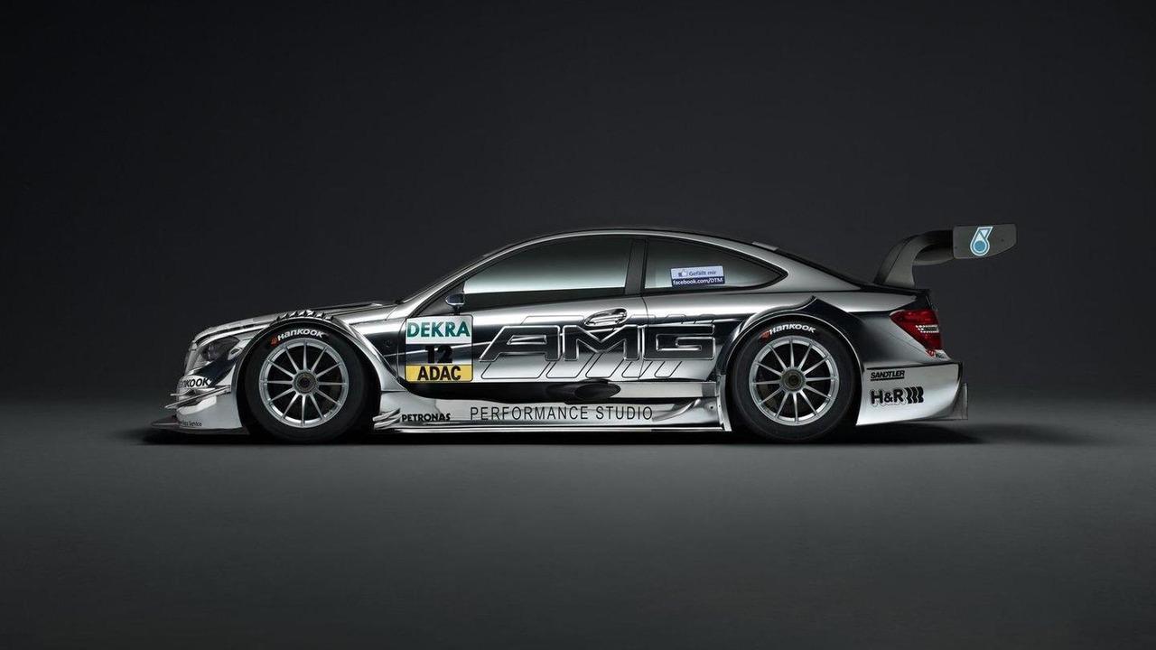 Mercedes-Benz DTM AMG C-Coupe race car 13.09.2011