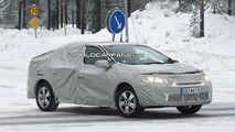 Reanult Megane sedan spy photo