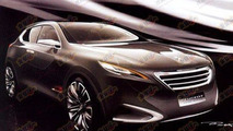 Peugeot Crossover Concept images surface ahead for Shanghai debut