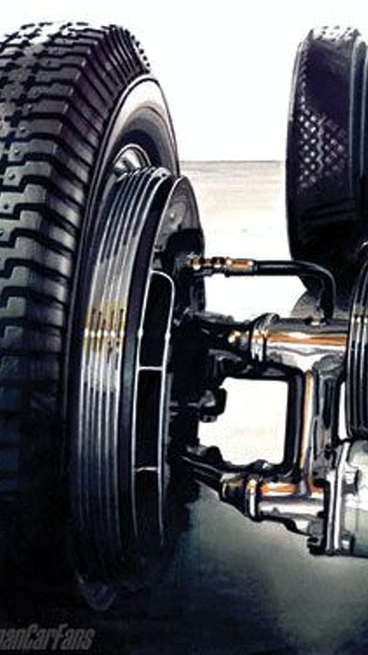 Auto Union wheel
