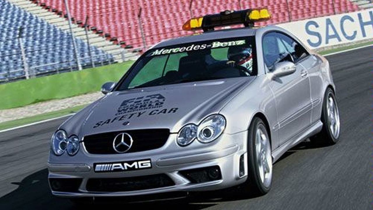 MB CLK 55 AMG Safety Car