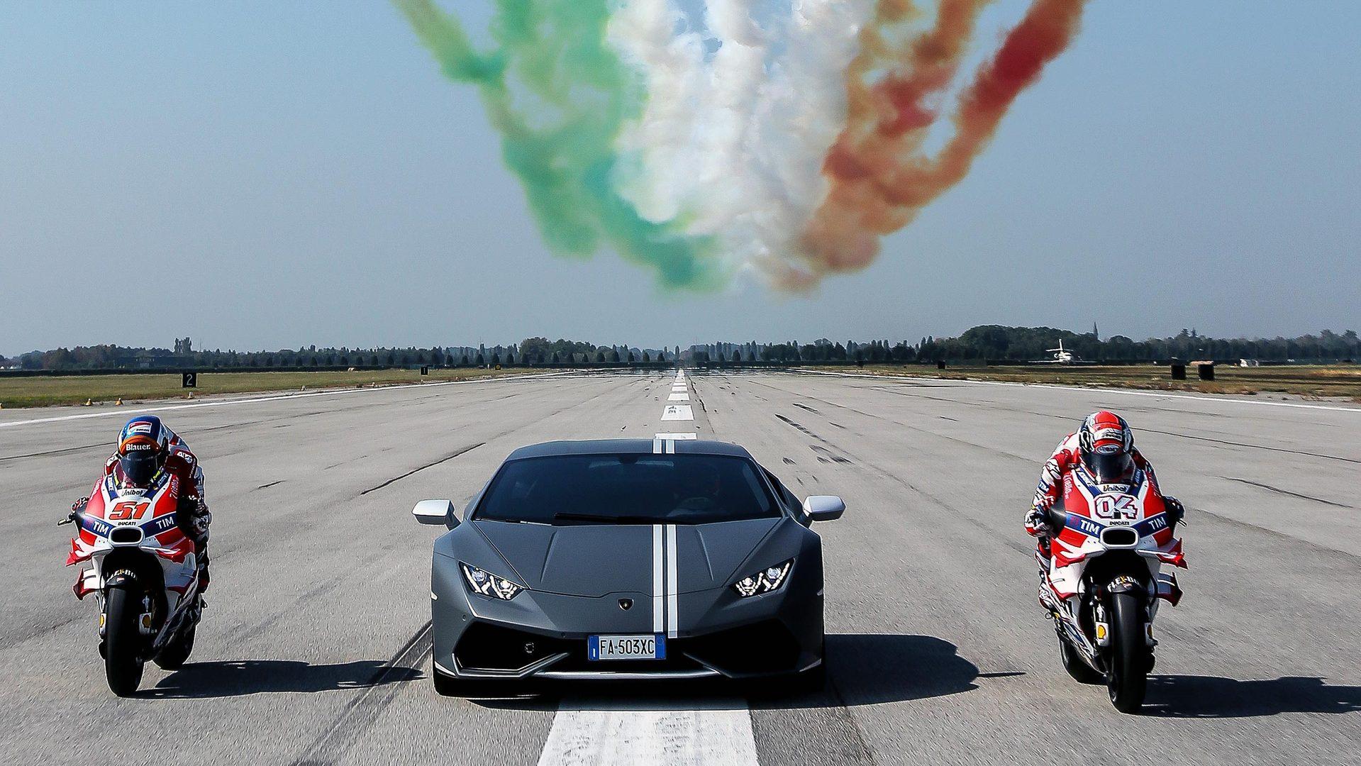 Lamborghini Celebrates Passioni Tricolori With Ducati And