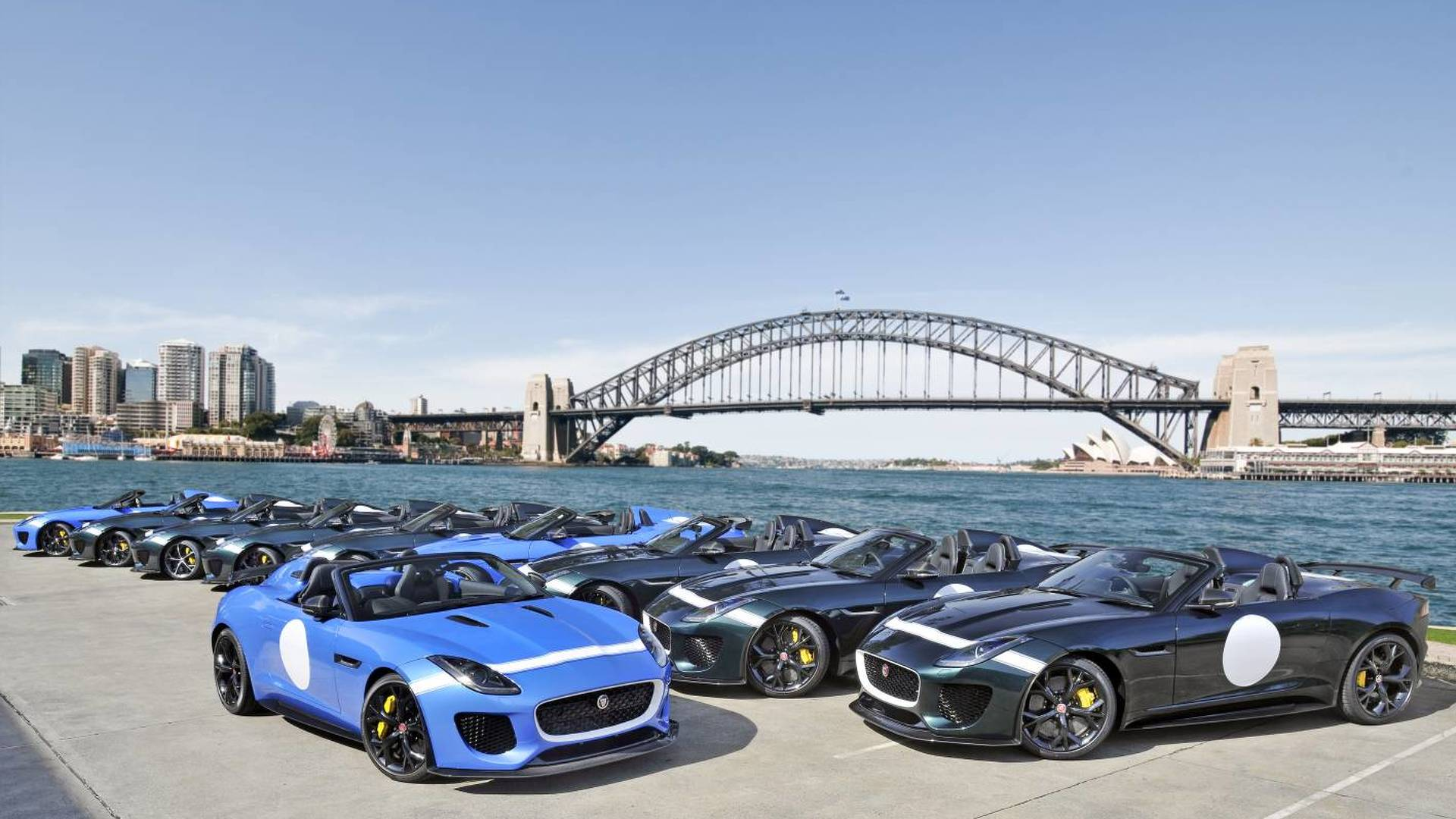 Jaguar sending ten F-Type Project 7s to Australia for $339,610 a pop
