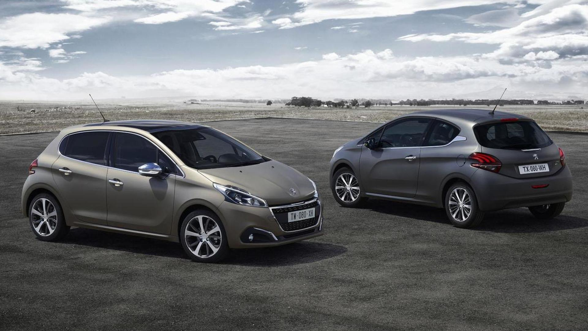 Peugeot 208 to offer unique a textured paint finish