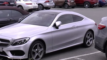 Mercedes-Benz C-Class Coupe and S-Class Cabriolet spotted in the metal for the first time [videos]