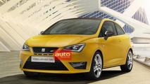 2013 Seat Ibiza Cupra facelift leaked image