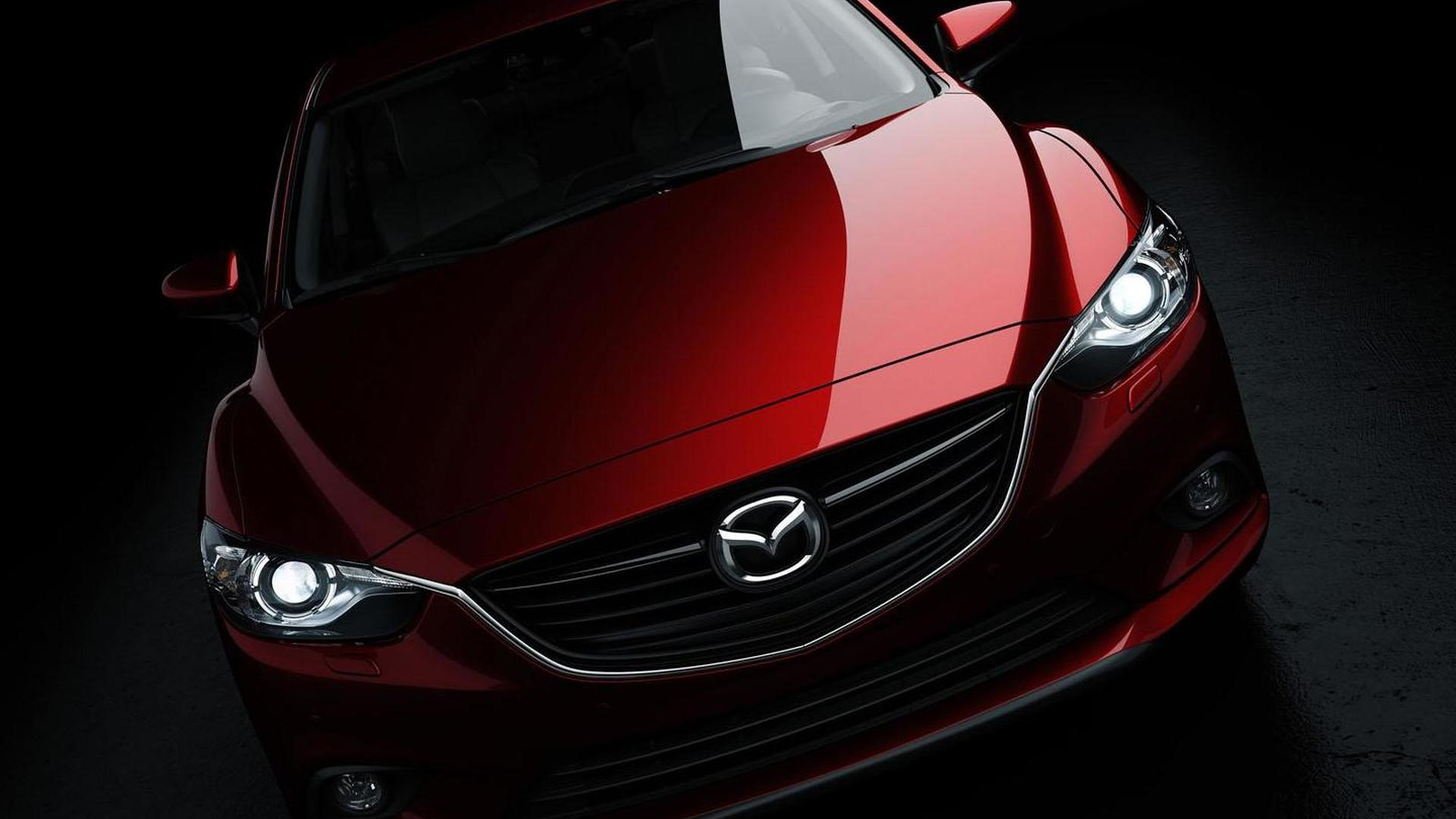 2014 Mazda6 revealed in first official image