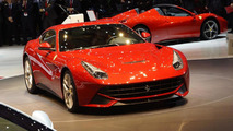 Ferrari F12 Berlinetta unveiled in Geneva