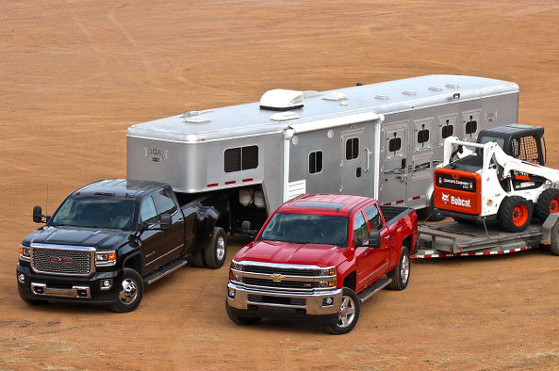 GMC Sierra, Chevy Silverado 2500-3500HD First Drive: Crazy Power, Newfound Refinement