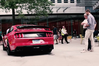 Watch the New Shelby GT350 Scare Some Unsuspecting Brits