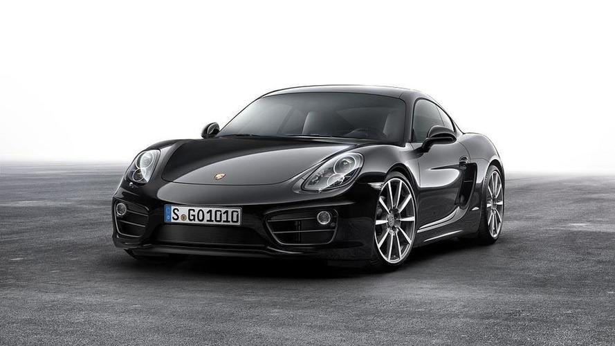 Porsche Cayman Black Edition unveiled
