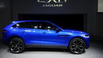 Jaguar C-X17 concept live in Frankfurt 10.09.2013